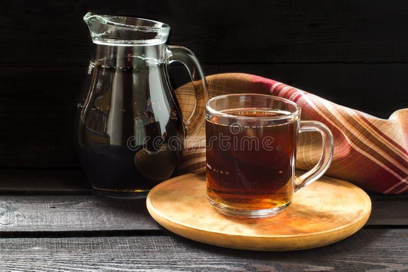 传统俄国饮料俄国啤酒 免版税库存图片