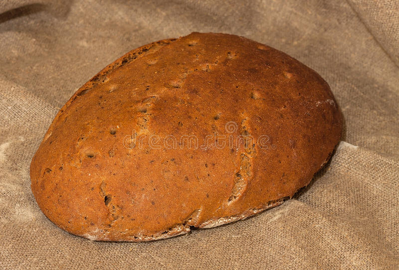 传统俄语大面包  图库摄影