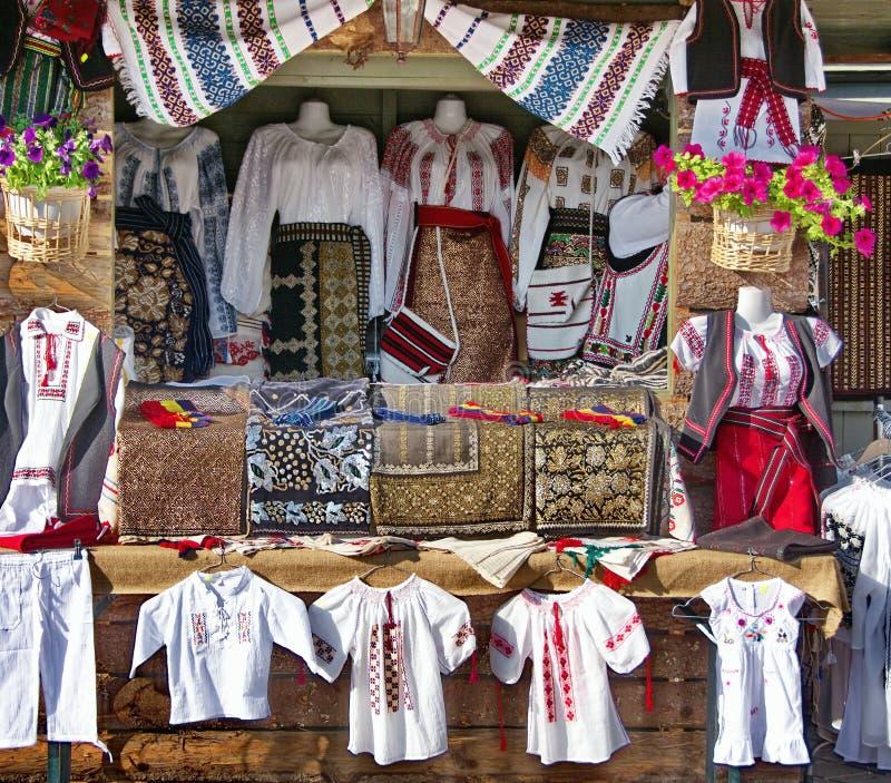 传统农民服装 库存照片