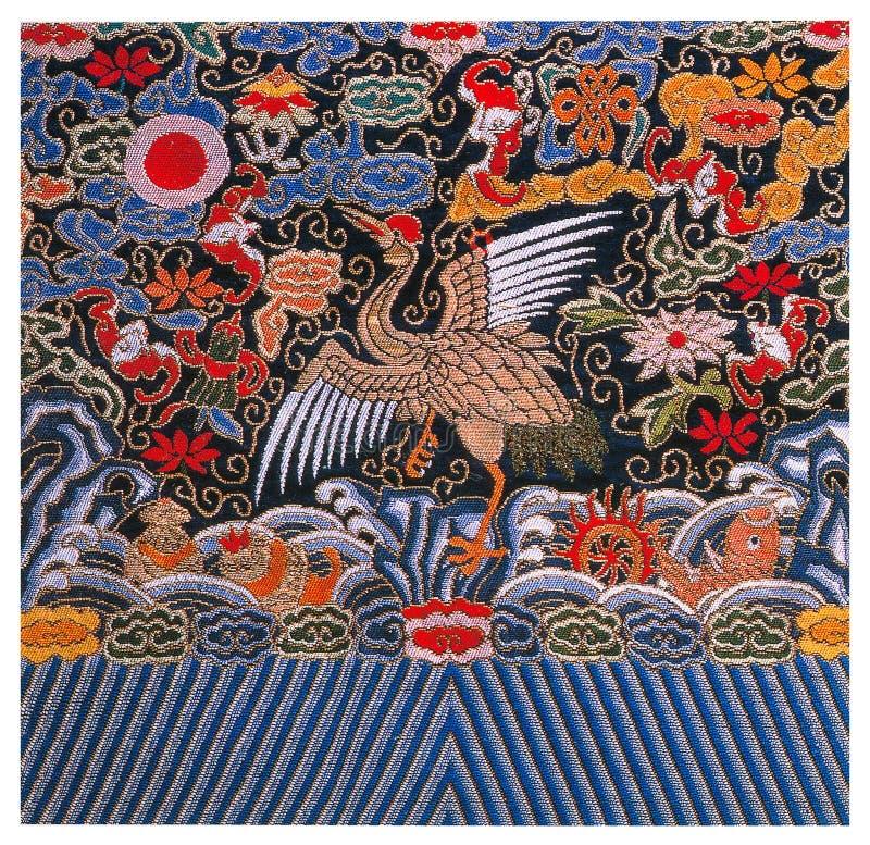 传统刺绣 图库摄影