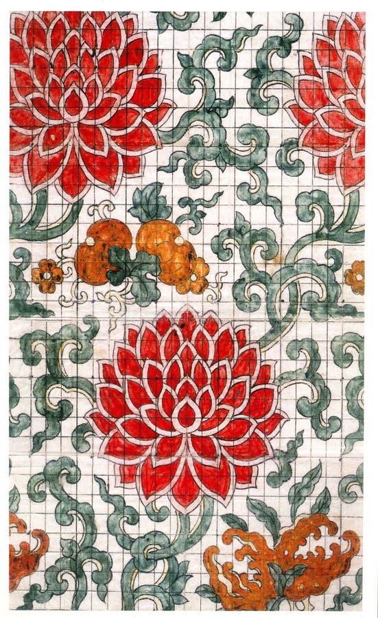 传统刺绣 免版税库存照片