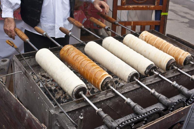 传统匈牙利蛋糕 库存图片