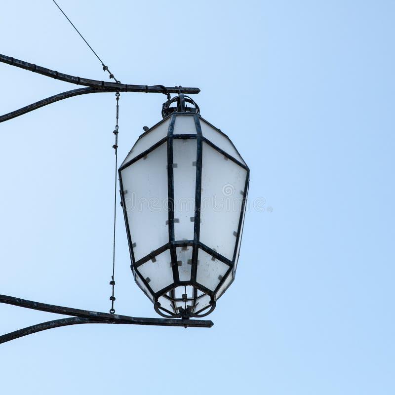 传统古老威尼斯式街灯特写镜头 免版税库存图片
