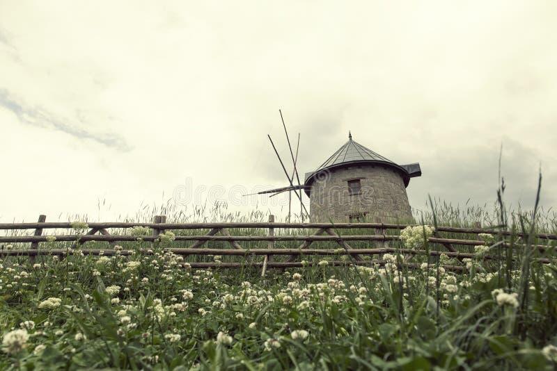 传统土耳其老石磨房 风景, 库存图片