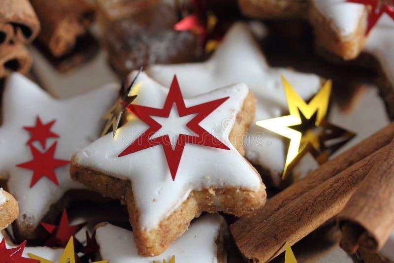 传统圣诞节甜点 免版税图库摄影