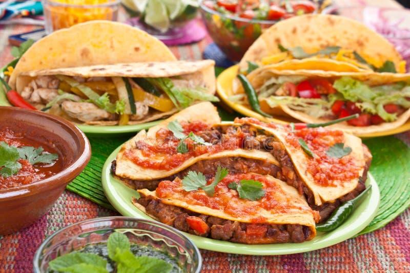 传统墨西哥食物 图库摄影