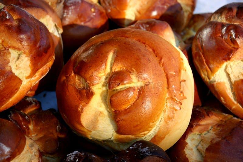 传统复活节Folar 库存照片