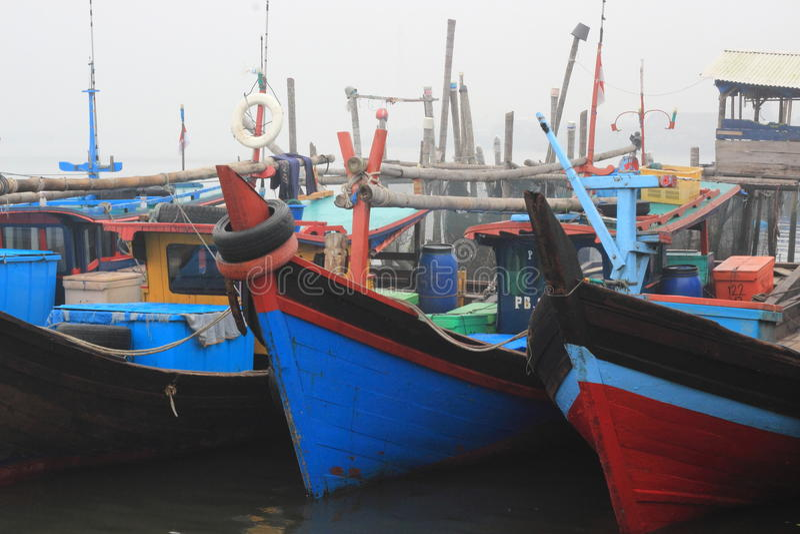 传统小船 库存照片