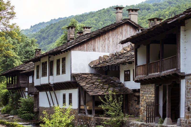 传统房子froom东部Europ 图库摄影
