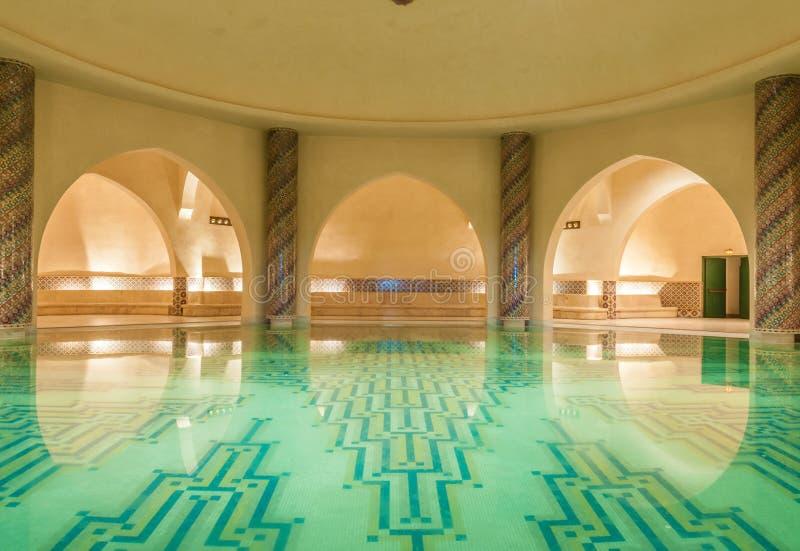 传统摩洛哥浴- hammam 库存照片