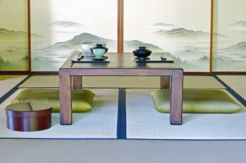 传统日本室 库存照片