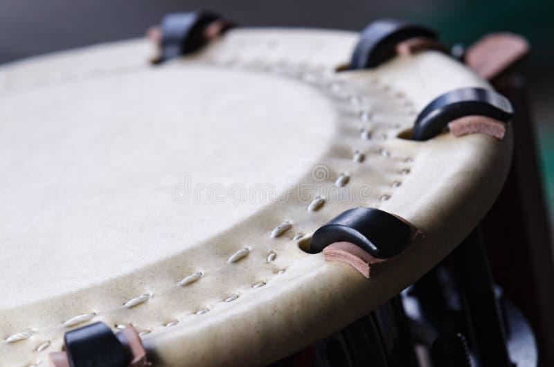 传统日本打击乐器Taiko 免版税库存照片