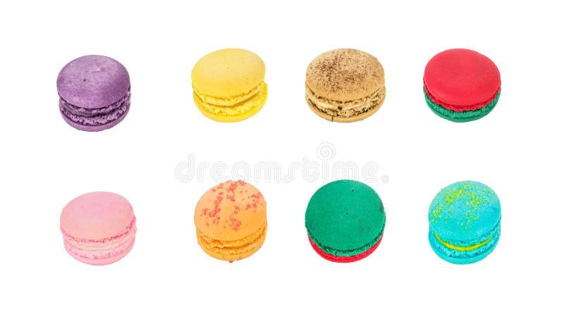 传统法国macaron 库存照片