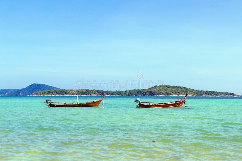 传统泰国longtail小船 免版税库存图片