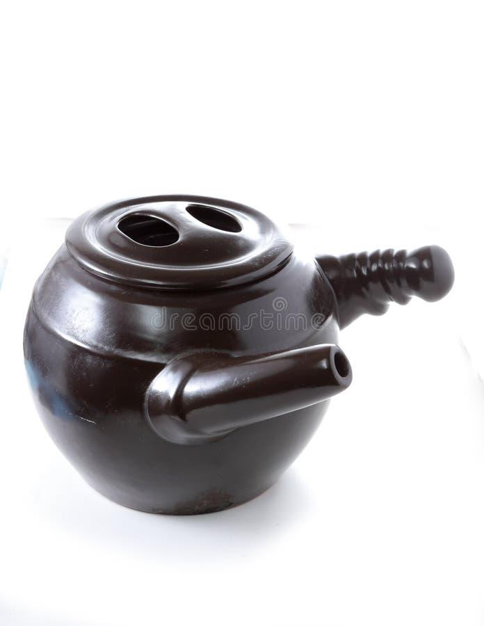 传统疗程claypot 免版税库存照片