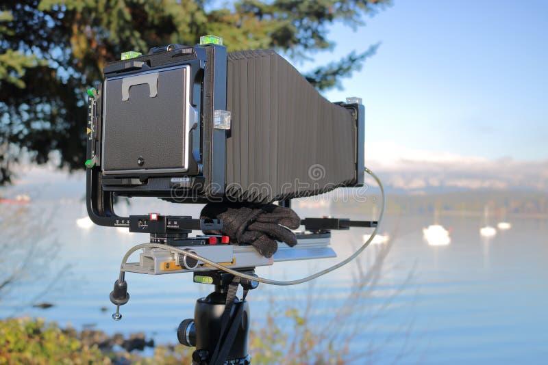 传统相机盒 库存图片