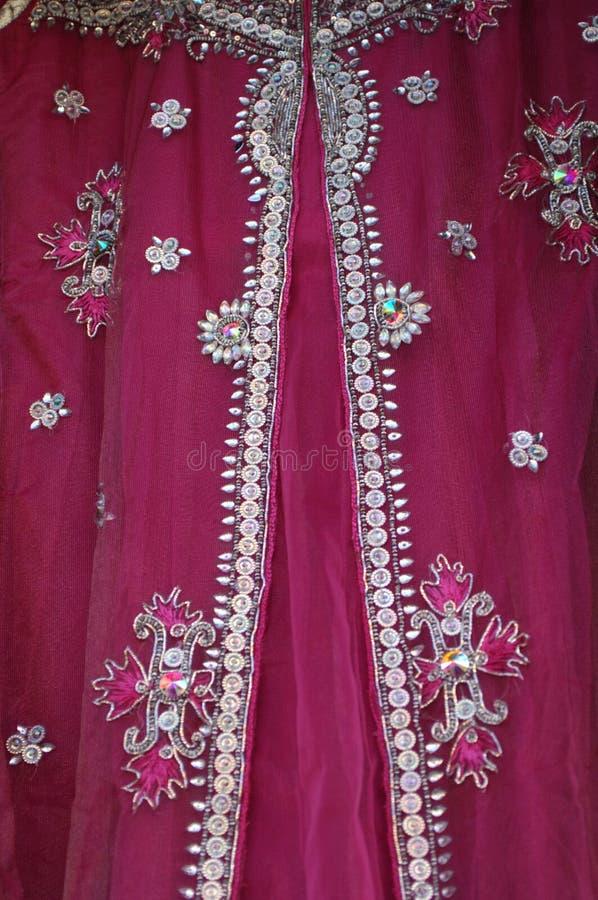 传统礼服在尼泊尔 免版税库存照片