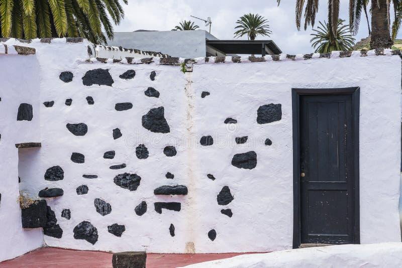 传统建筑在Haria 免版税图库摄影