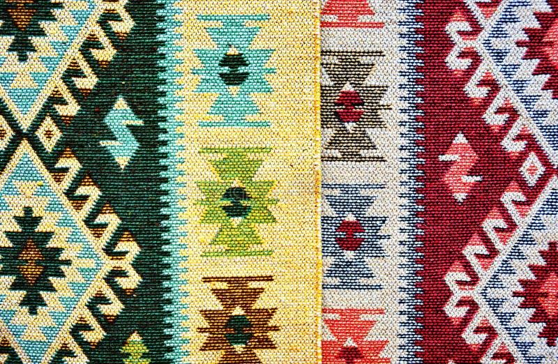 传统罗马尼亚的地毯 免版税图库摄影