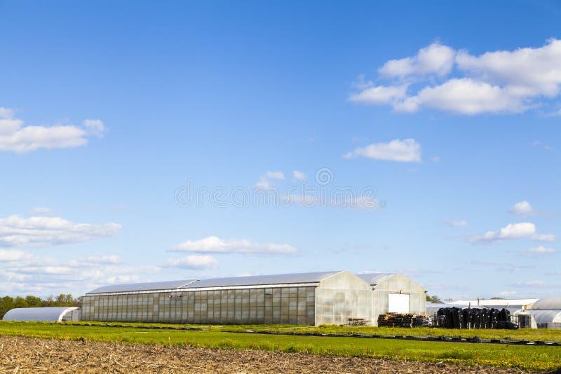传统美国农场 免版税图库摄影
