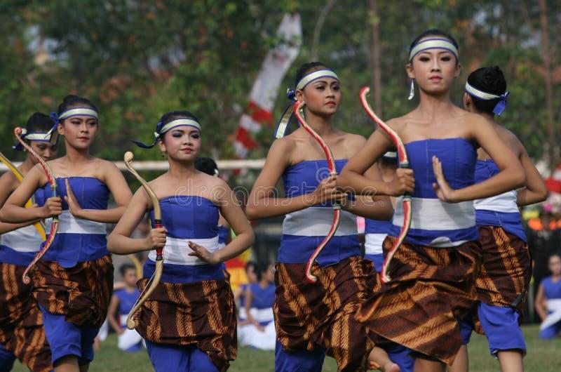 传统舞蹈 图库摄影