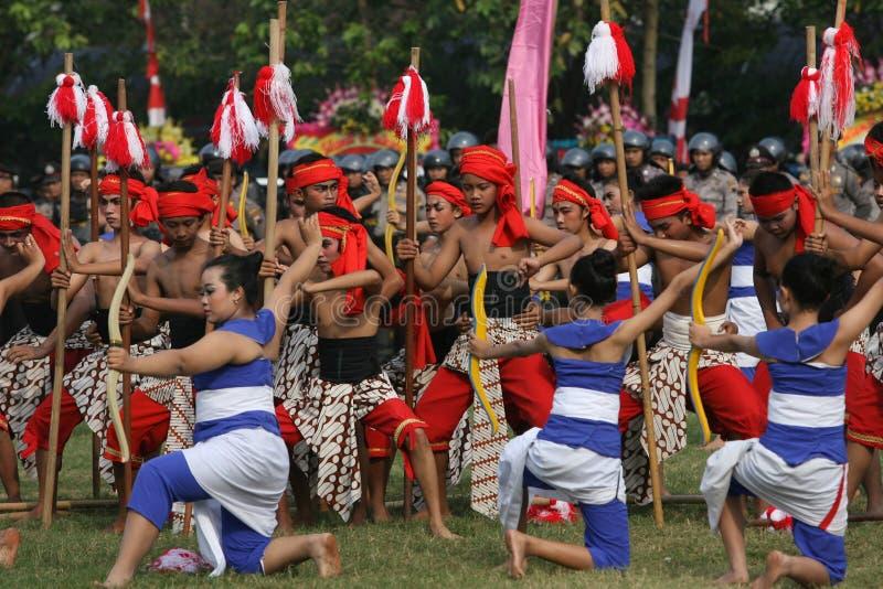 传统舞蹈 免版税库存图片