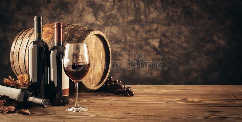 传统葡萄酒酿造和品酒 库存图片