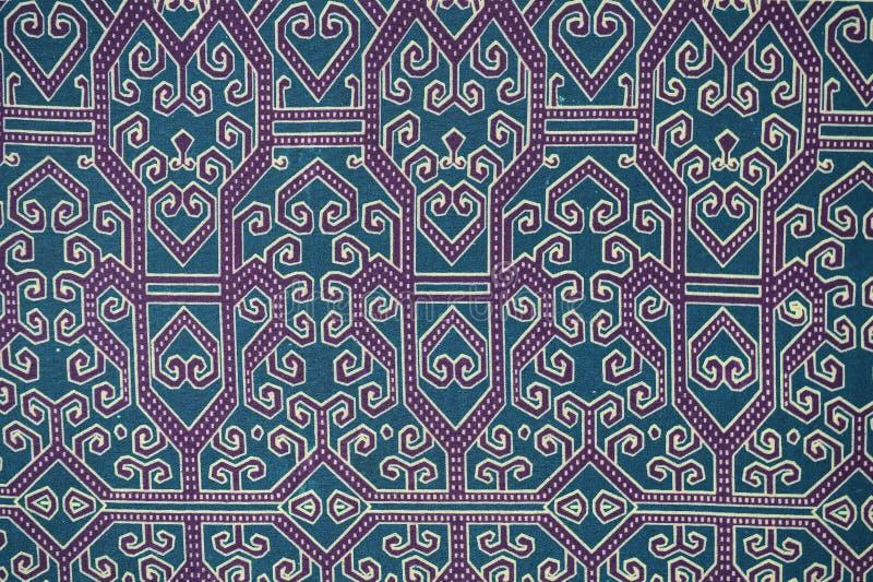 传统蜡染布布裙样式 库存照片
