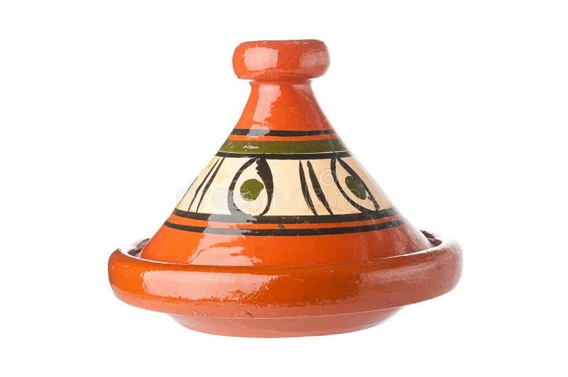 传统装饰的摩洛哥tagine 库存照片