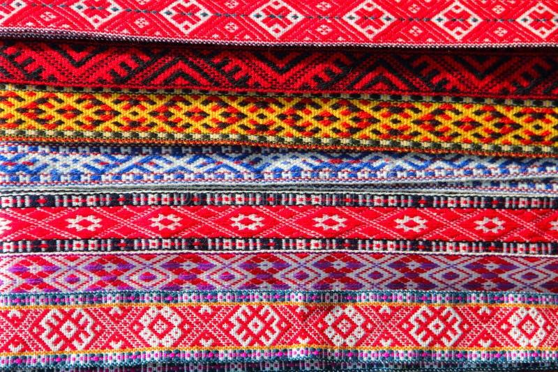 传统装饰织品 免版税库存图片