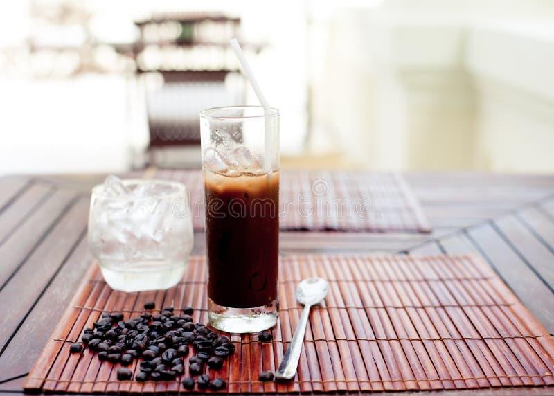 传统越南,泰国冰冻咖啡用豆 库存照片