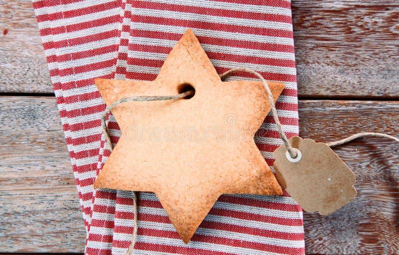 传统酥脆圣诞节曲奇饼 库存图片