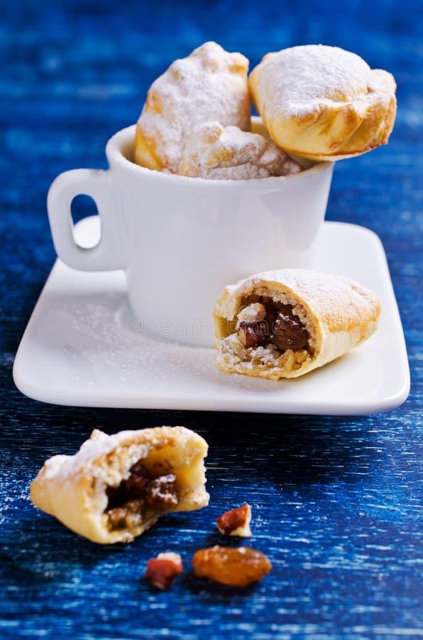 传统阿拉伯曲奇饼 免版税库存图片