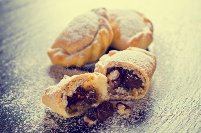 传统阿拉伯曲奇饼 图库摄影