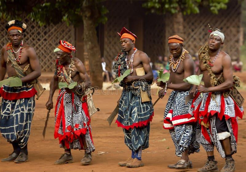 传统非洲舞蹈 免版税库存照片