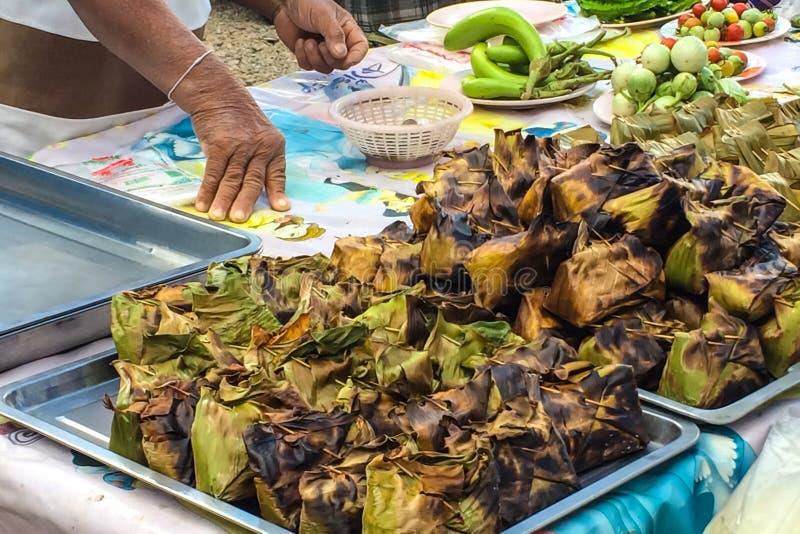 传统风格街道食物 免版税库存照片