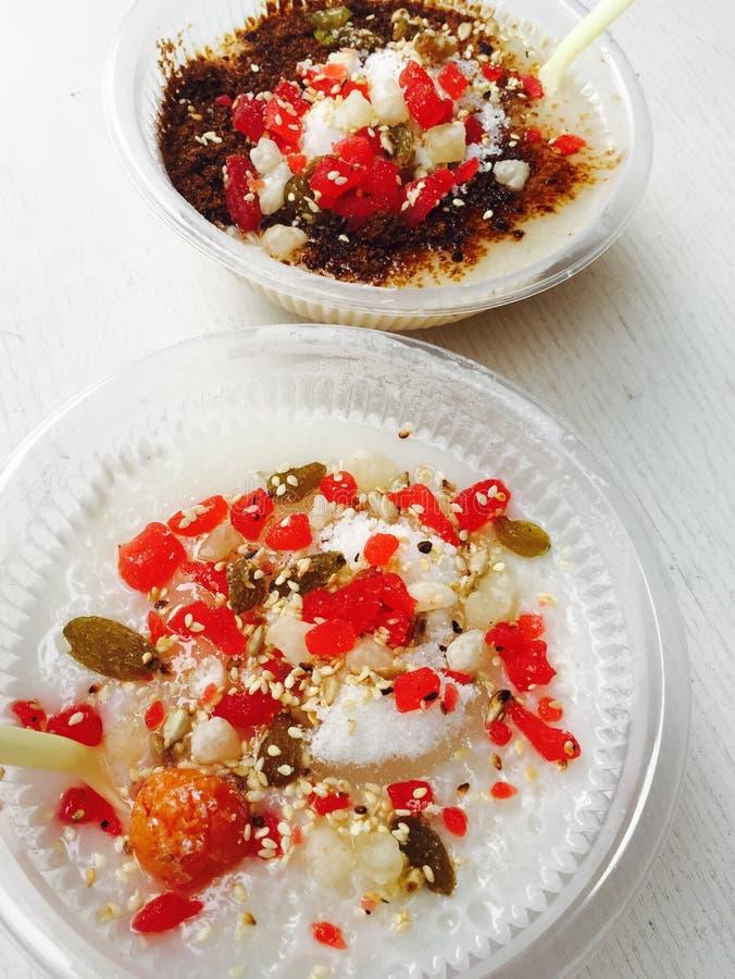 传统食物在天津中国 免版税库存照片