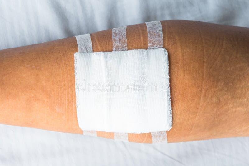 伤口敷料系列 库存照片