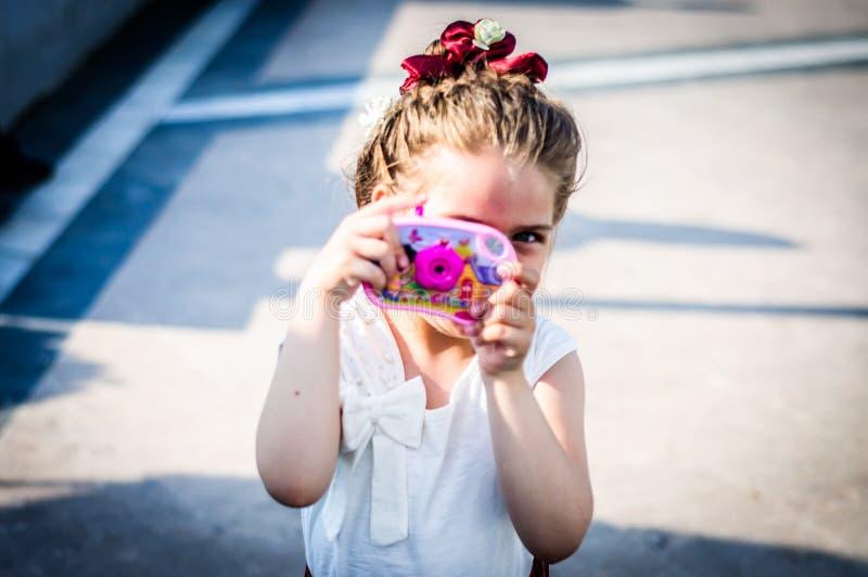 伤残了悟星期艺术和民间传说事件的-土耳其美丽的女婴 免版税库存照片