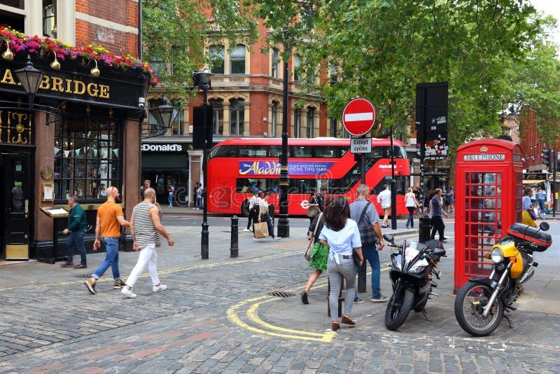 伦敦伦敦苏豪区 库存图片