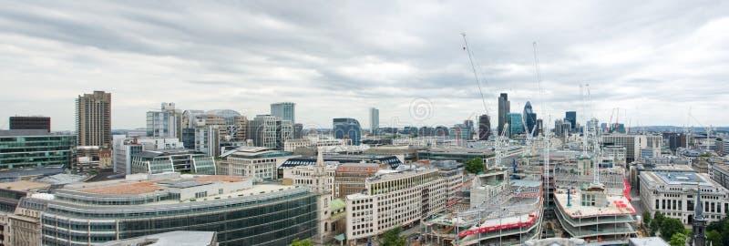 伦敦全景 免版税库存图片