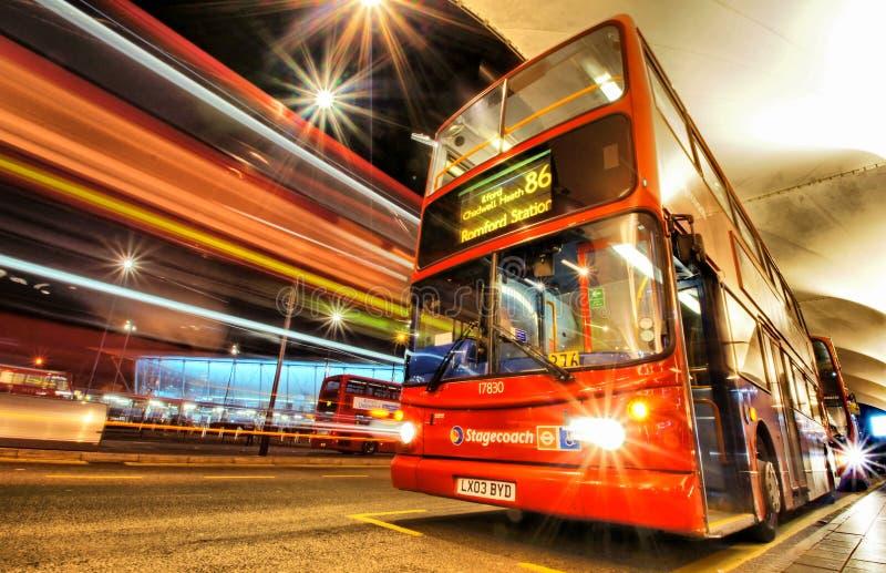 伦敦公共汽车 图库摄影