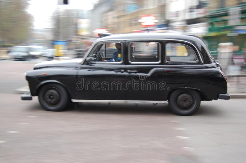 伦敦出租汽车 库存照片