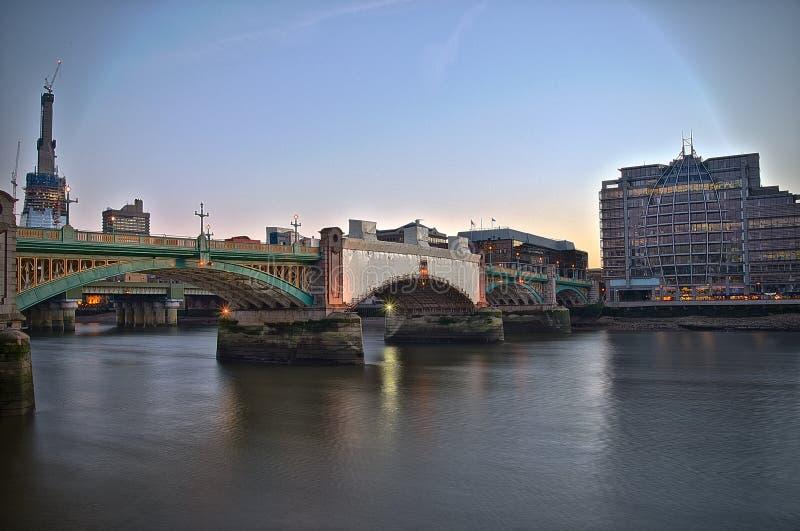伦敦南银行2 库存照片