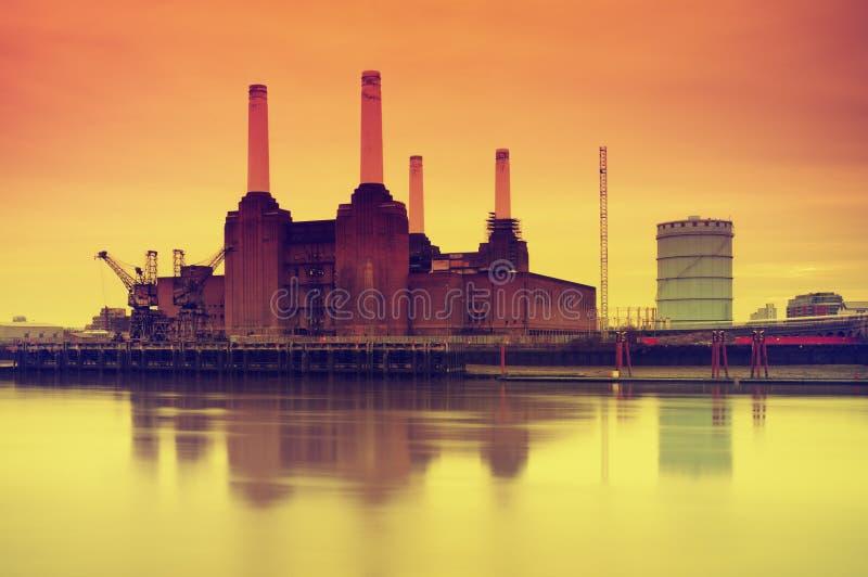 伦敦发电站 免版税库存照片