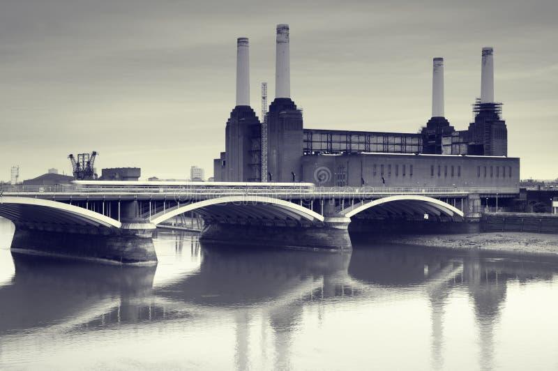 伦敦发电站 库存图片