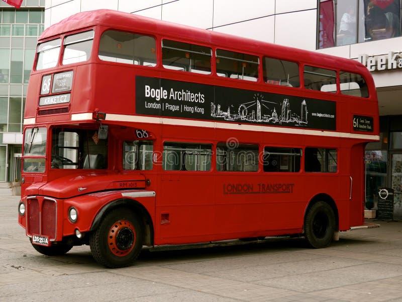 伦敦在布拉格 库存图片