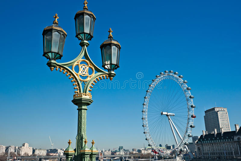 伦敦地平线英国 免版税库存照片
