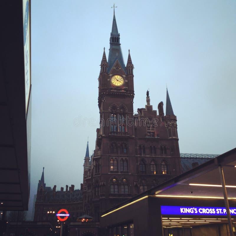 伦敦地铁时钟欧洲发现 图库摄影
