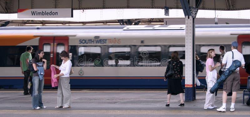 伦敦地铁站 免版税库存照片